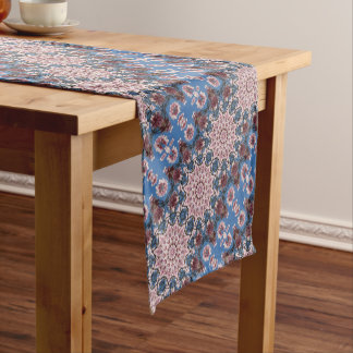 Spring, Flower-Mandala (Blumen-Mandala) Short Table Runner