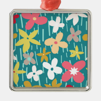 spring flower meadow christmas ornament