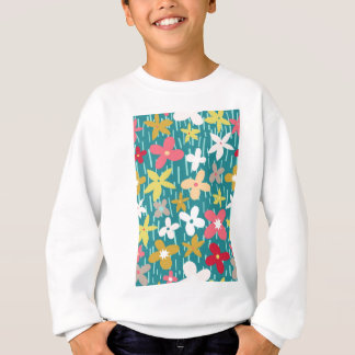 spring flower meadow sweatshirt