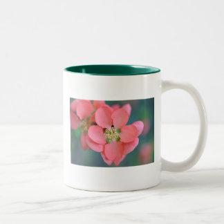 Spring Flower Two-Tone Coffee Mug