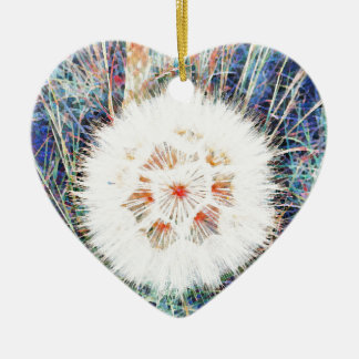 SPRING FLOWER V10 CERAMIC HEART DECORATION