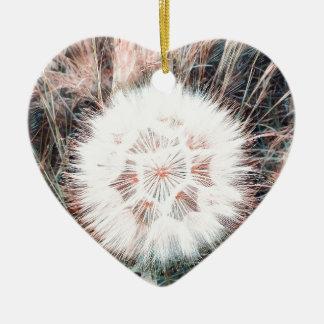 SPRING FLOWER V11 CERAMIC HEART DECORATION