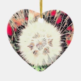 SPRING FLOWER V12 CERAMIC HEART DECORATION