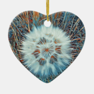 SPRING FLOWER V15 CERAMIC HEART DECORATION