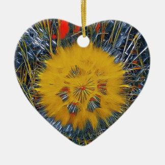 SPRING FLOWER V16 CERAMIC HEART DECORATION