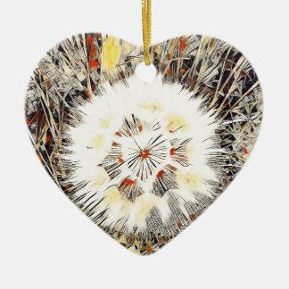 SPRING FLOWER V3 CERAMIC HEART DECORATION