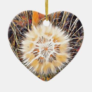 SPRING FLOWER V5 CERAMIC HEART DECORATION