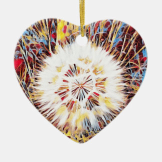 SPRING FLOWER V7 CERAMIC HEART DECORATION