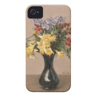 Spring Flowers, 1869 (oil on canvas) iPhone 4 Case-Mate Cases