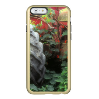 Spring flowers adorn an old tractor. incipio feather® shine iPhone 6 case