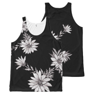 Spring Flowers All-Over Print Tank Top