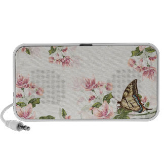 Spring Flowers and Butterfly Speaker