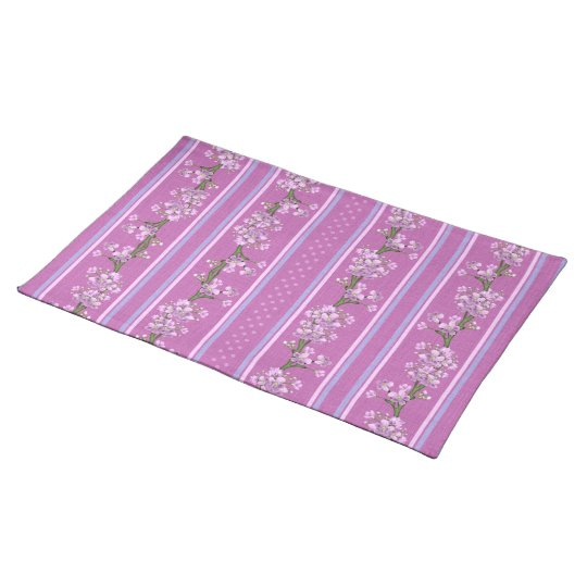 Spring Flowers and Dots Placemat