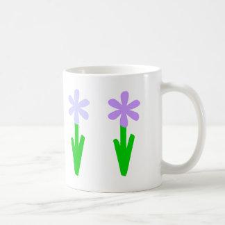 Spring Flowers Basic White Mug