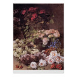 Spring Flowers by Claude Monet Posters