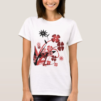 Spring Flowers Clipart T-Shirt