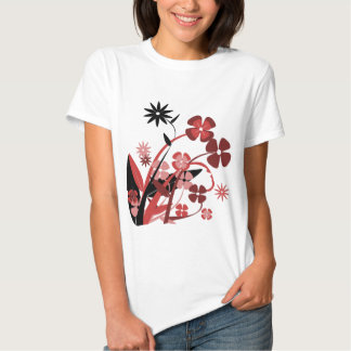 Spring Flowers Clipart T Shirts