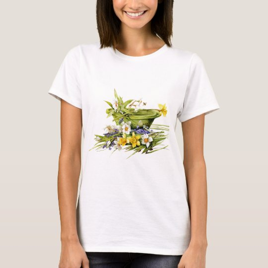spring flowers - customisable T-Shirt