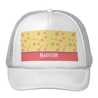 Spring Flowers; Cute Floral Hat
