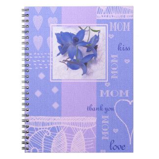 Spring Flowers Design Mother's Day Gift Notebooks