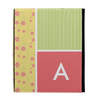 Spring Flowers floral iPad Case