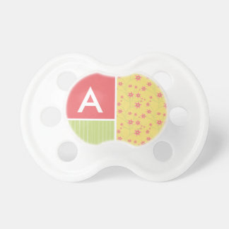 Spring Flowers floral Pacifiers