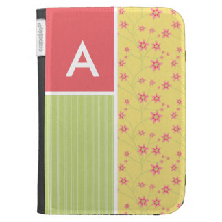 Spring Flowers floral Kindle 3G Covers