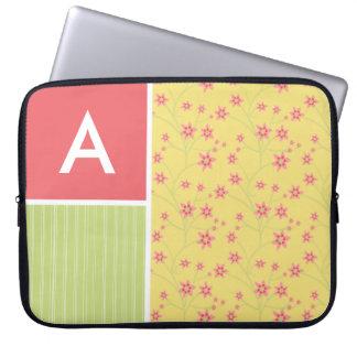 Spring Flowers floral Laptop Sleeve