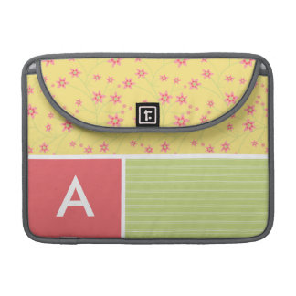 Spring Flowers floral Sleeves For MacBook Pro