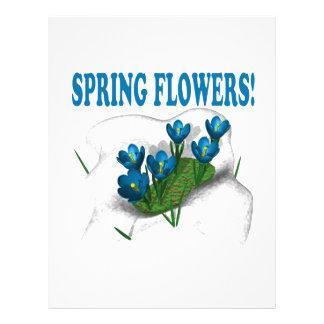Spring Flowers Full Color Flyer