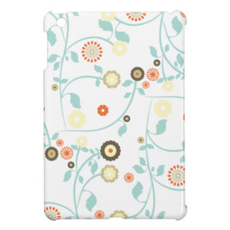 Spring flowers girly mod chic floral pattern iPad mini covers