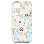 Spring flowers girly rustic chic floral pattern iPhone 5 cases