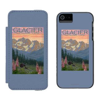 Spring Flowers - Glacier National Park, MT Incipio Watson™ iPhone 5 Wallet Case