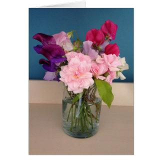 Spring Flowers - Greeting Card
