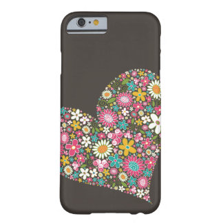 Spring Flowers Heart Twist iPhone CaseMate Barely There iPhone 6 Case