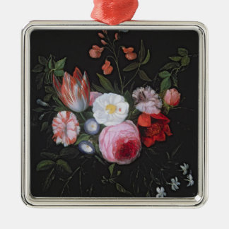 Spring Flowers in a glass vase, 17th century Christmas Ornament