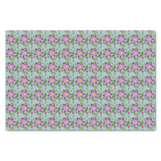 Spring Flowers - in purple, lilac and fuchsia Tissue Paper