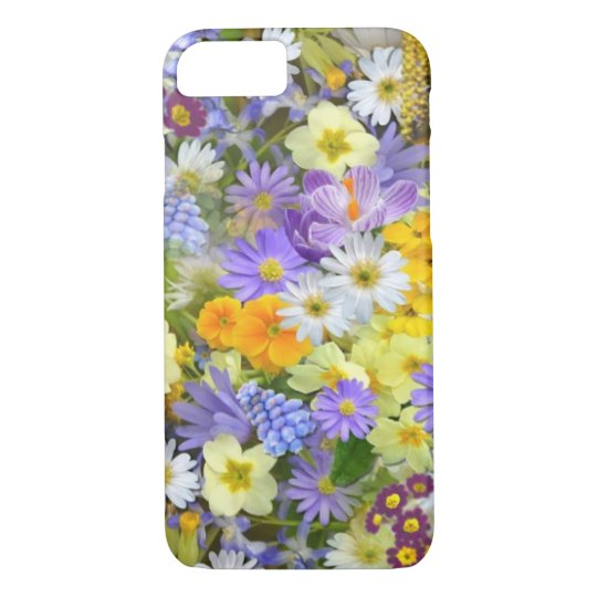 Spring Flowers iPhone X/8/7 Barely There Case