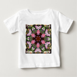 Spring Flowers Kaleidoscope Baby T-Shirt