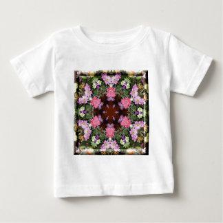 Spring Flowers Kaleidoscope Tee Shirts