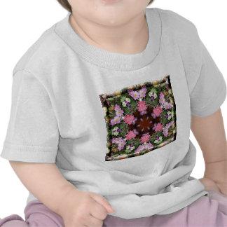 Spring Flowers Kaleidoscope Tshirts