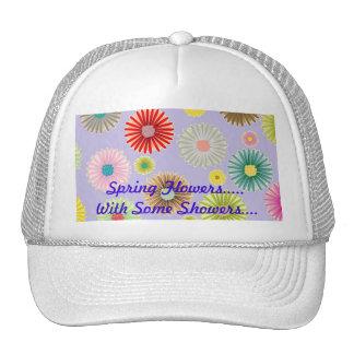 Spring Flowers Ladies Cap