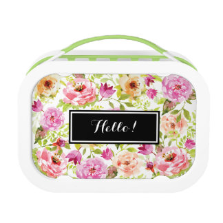 Spring Flowers Lunchbox