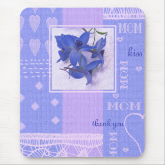 Spring Flowers Mother's Day Gift Mousepad