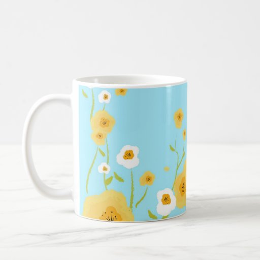 Spring Flowers. Mother's Day Gift Mug