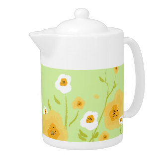 Spring Flowers. Mother's Day Gift Teapots
