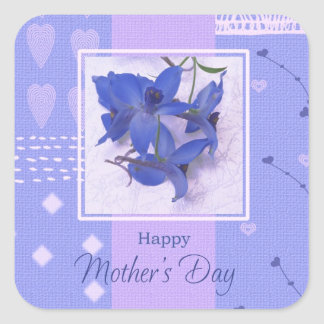 Spring Flowers Mother's Day Stickers