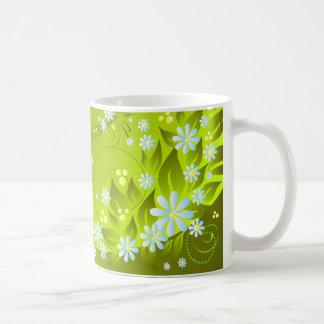 spring flowers mug
