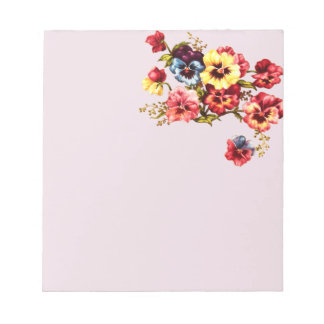 Spring Flowers Notepad