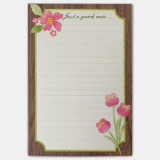 Spring Flowers Post-it-notes Post-it Notes